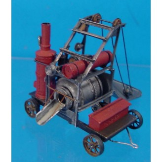 HO SCALE INTERNATIONAL CONCRETE MIXER