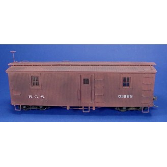 On3/On30 RIO GRANDE SOUTHERN OUTFIT CAR 01885