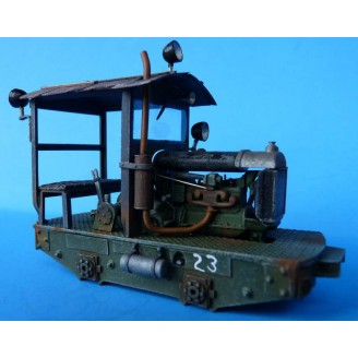 On3 OR On30 FORDSON LOCOMOTIVE NON-POWERED KIT READ!