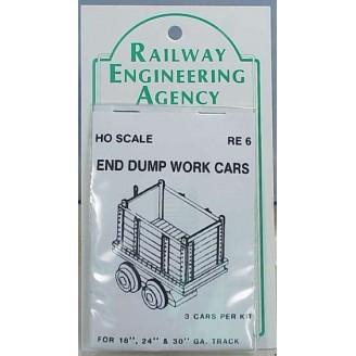 END DUMP MINE CARS,WORK CARS QUANTITY 3