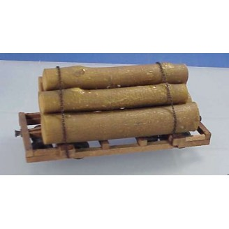 On3/On30 NEW MEXICO LUMBER LOG CAR KIT