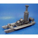 O SCALE MEDIUM WILLAMETTE 2 DRUM DONKEY