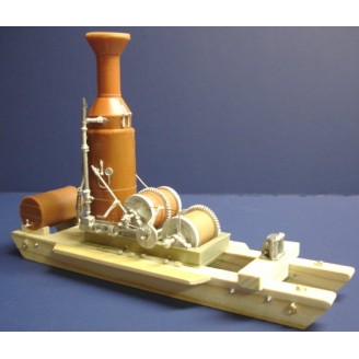 S SCALE WILLAMETTE 3 DRUM DONKEY ENGINE