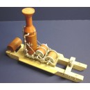 O SCALE MEDIUM WILLAMETTE 3 DRUM LOADER