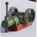 O SCALE LARGE AIR COMPRESSOR