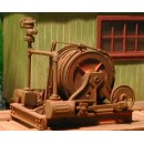 O SCALE SINGLE SPOOL MINING WINCH