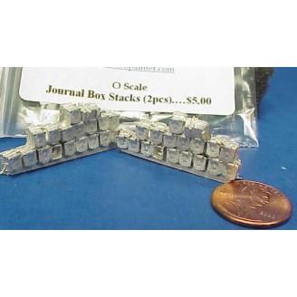 O SCALE JOURNAL BOX STACKS