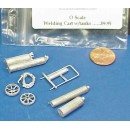 O SCALE WELDING CAR WITH TANKS