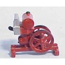 O SCALE SMALL GASOLINE ENGINE ON SKID KIT