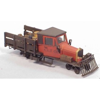 On3/On30 MOW RAIL TRUCK POWERED KIT