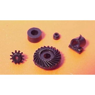 SMALL MINIATURE GEARBOX SET FOR SPEEDERS ETC.