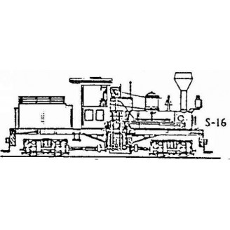 S/Sn3 2 CYLINDER T-BOILER MDC SHAY CONVERSION