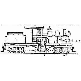 S/Sn3 2 CYL. STRAIGHT BOILER SHAY CONVERSION
