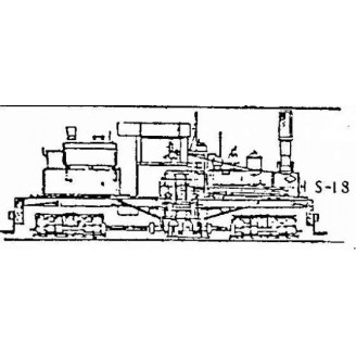 S/Sn3 2 CYL. MICH-CAL #2 SHAY CONVERSION