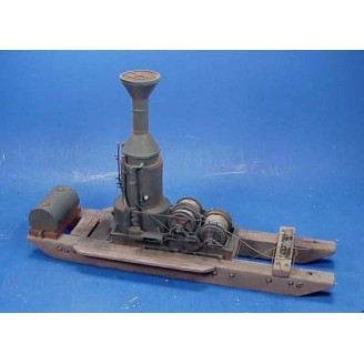 O SCALE WILLAMETTE EF 3 DRUM LOADING ENGINE