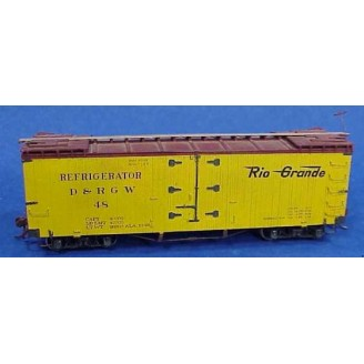 Sn3 D&RGW 30' REFRIGERATOR CAR KIT