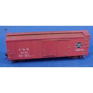 Sn3 C&S / RGS PHASE III MUPHY ROOF BOX CAR