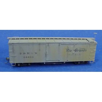 Sn3 D&RGW MOW 30' BLOCK CAR #04444 KIT