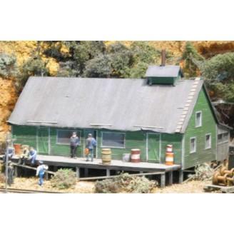 HO WEST SIDE LUMBER CAMP REYNOLDS COOK HOUSE
