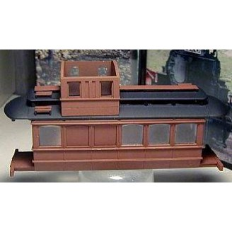 On30 BACHMANN TROLLEY CONVERSION CASTINGS