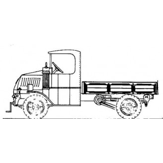 MACK LIGHT DELIVERY TRUCK