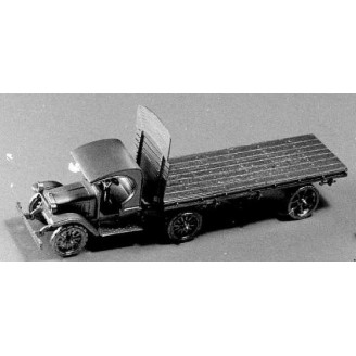 KLEIBER OPEN CAB SEMI WITH FLATBED TRAILER