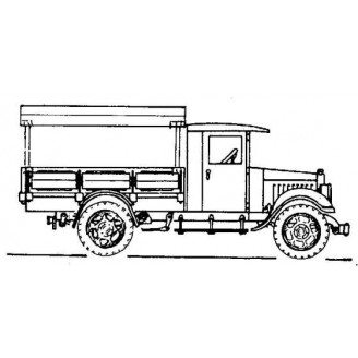 KLEIBER CLOSED CAB CANOPY TRUCK