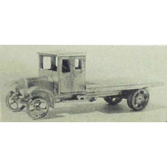 HO 1926 WHITE LONG WHEELBASE FLATBED TRUCK