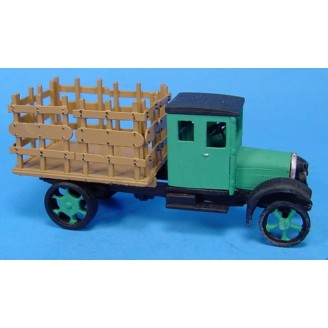 HO 1926 WHITE STAKEBED TRUCK