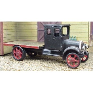HO 1926 WHITE SHORT WHEELBASE FLATBED TRUCK