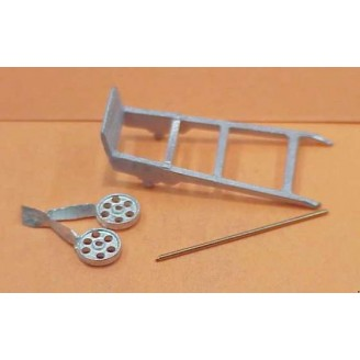 S SCALE HAND TRUCK