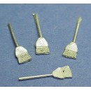 HO SCALE STRAIGHT BROOMS