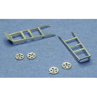 HO SCALE HAND TRUCKS