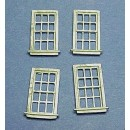 HO SCALE 12 PANE WINDOWS