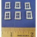 HO SCALE SMALL 4 PANE WINDOWS