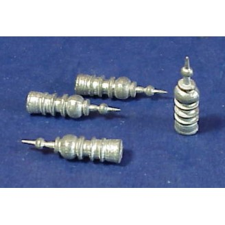 HO SCALE ROOF FINIALS