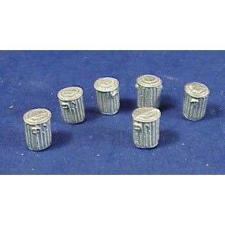 HO SCALE SMALL TRASH CANS