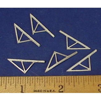 HO SCALE PORCH ROOF TRUSSES