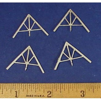 HO SCALE SMALL ROOF TRUSSES