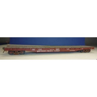 "SOUTHERN PACIFIC F-70-7 53' 6"" FLAT CAR KIT"