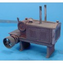 O SCALE BATES STATIONARY POWER UNIT KIT