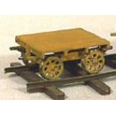 S SCALE SECTION CARS/SPEEDER TRAILERS KIT