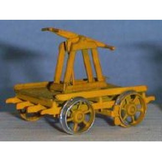 S SCALE HAND CAR KIT
