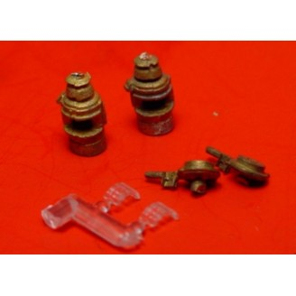 D&RGW RADIUS STYLE OIL MARKER LAMPS