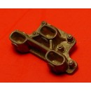 O SCALE D&RGW 3 WAY COUPLER POCKET FOR LOCOMOTIVES AND IDLER CARS