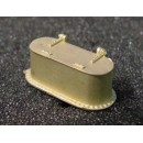 O SCALE TENDER WATER TANK HATCH, D&RGW/RGS K-27 AND OTHERS