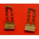 O SCALE STEAM LOCOMOTIVE DOUBLE STRAP PILOT OR TENDER STEPS