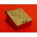 O SCALE D&RGW ROOF MOUNT TOOL OR HOSE BOX