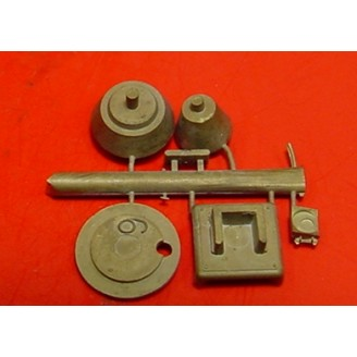 O SCALE D&RGW AND OTHERS CABOOSE STOVE KIT