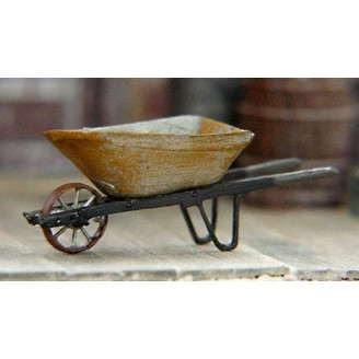 S SCALE METAL WHEEL BARROW KIT